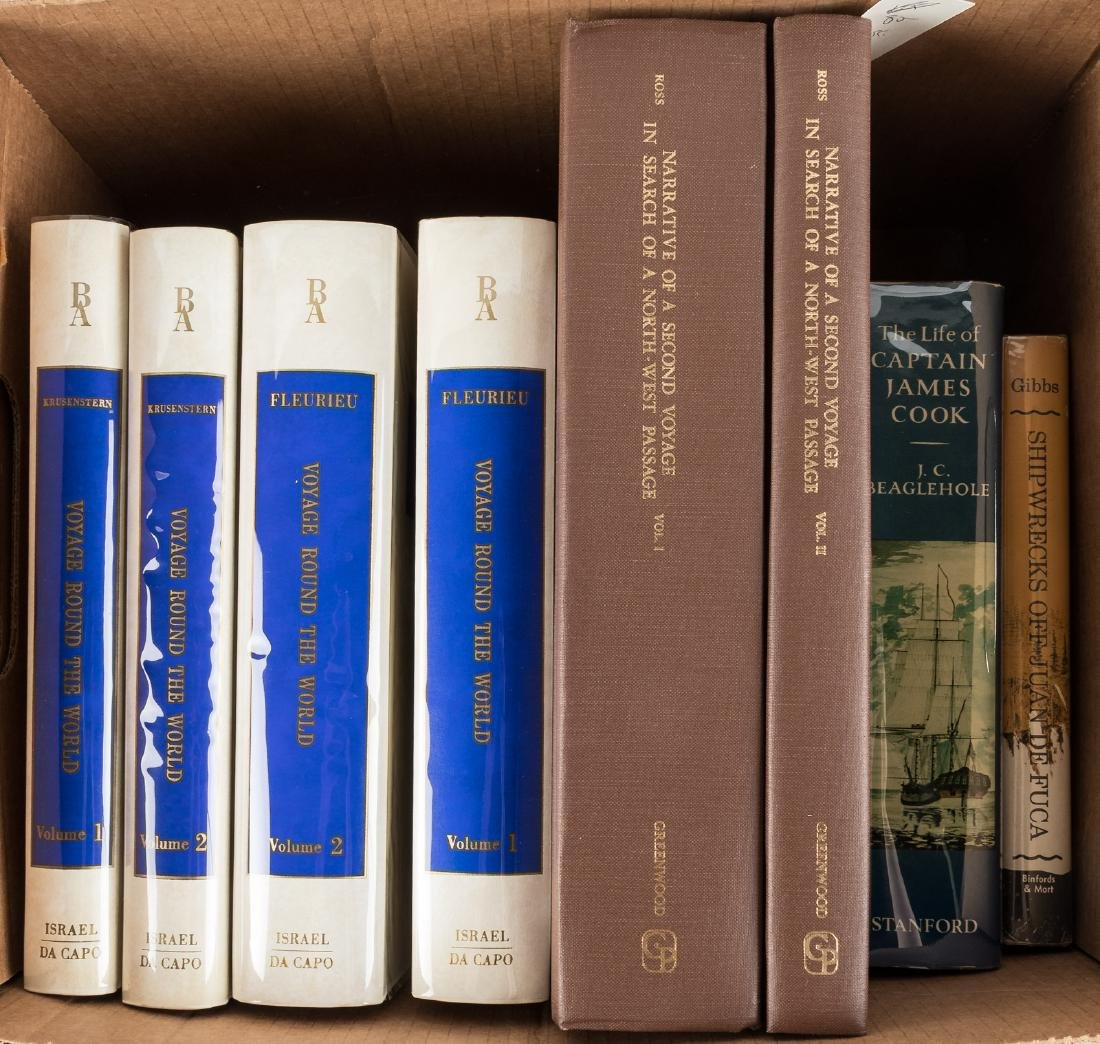 Eight volumes of travel and exploration