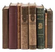 Eight volumes on hunting travel and exploration