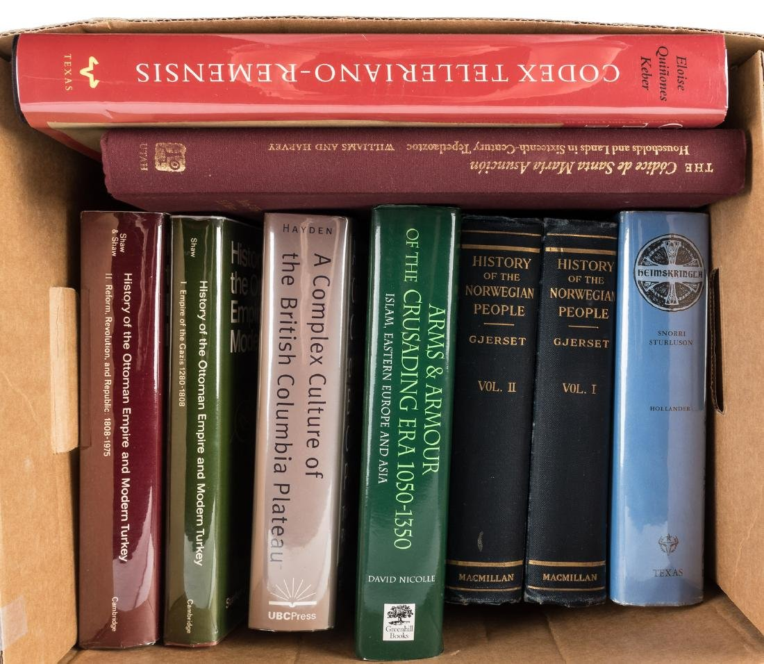Nine volumes on world history and anthropology
