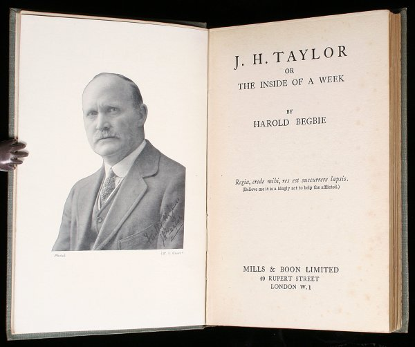 2020: J. H. Taylor or, The Inside of a Week