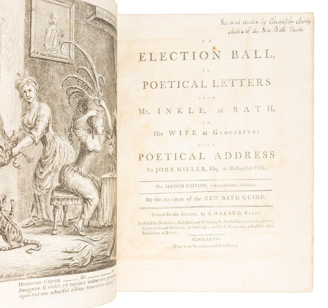 Christopher Anstey's An Election Ball 1776