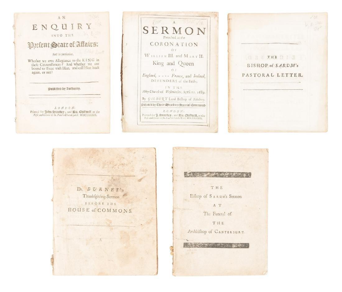 Sermons by Gilbert Burnet, 1689-94