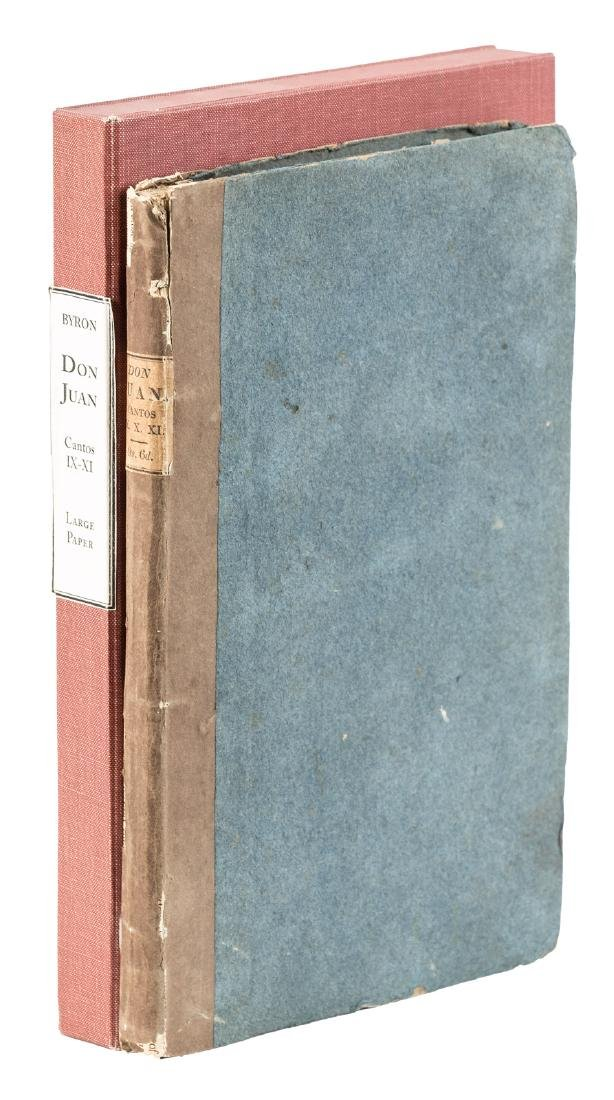 Large paper issue of Byron's Don Juan, Cantos IX, X, XI