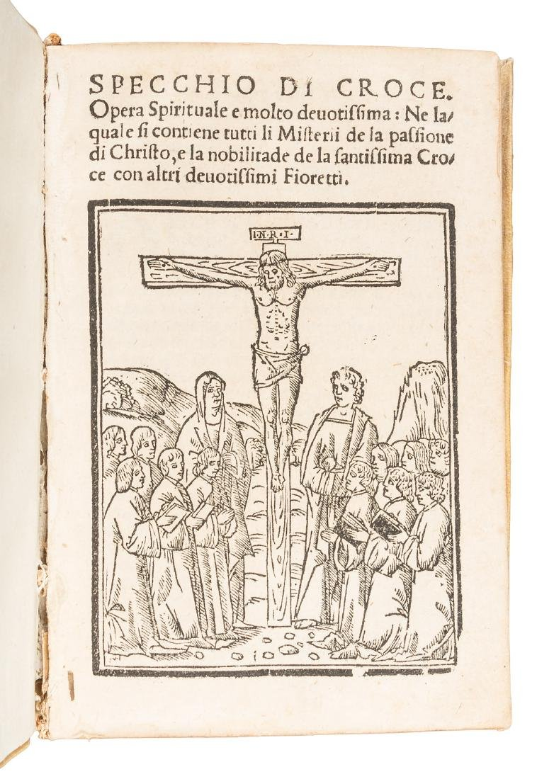 Cavalca Mirror of the Cross 1534