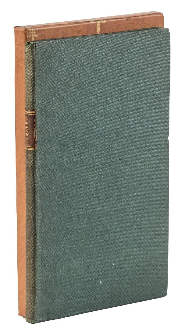 First separate edition of Nicholas Coxe's The Fowler