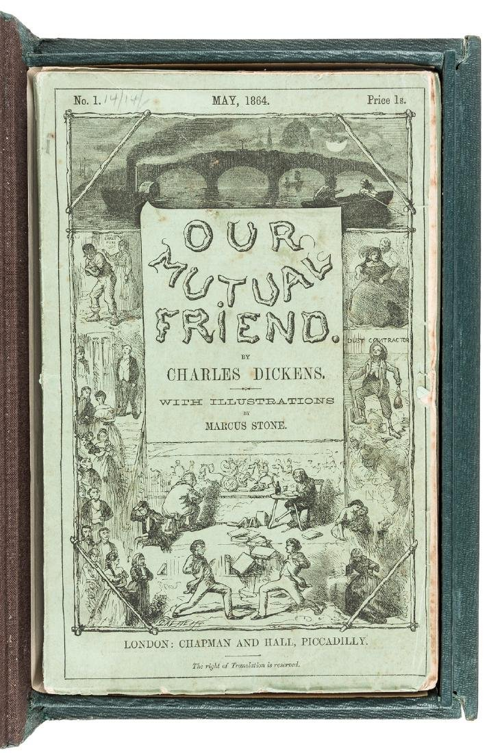 Dickens' Our Mutual Friend in original parts