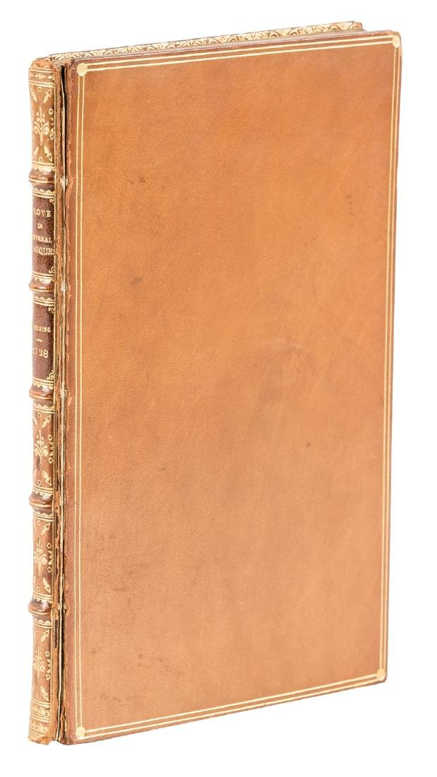 Fielding's 2nd book bound by Riviere
