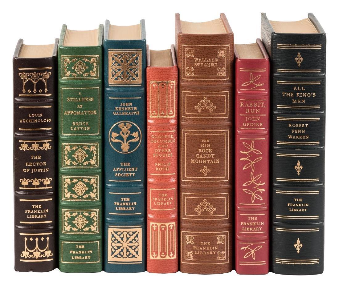 Seven Franklin Press signed editions