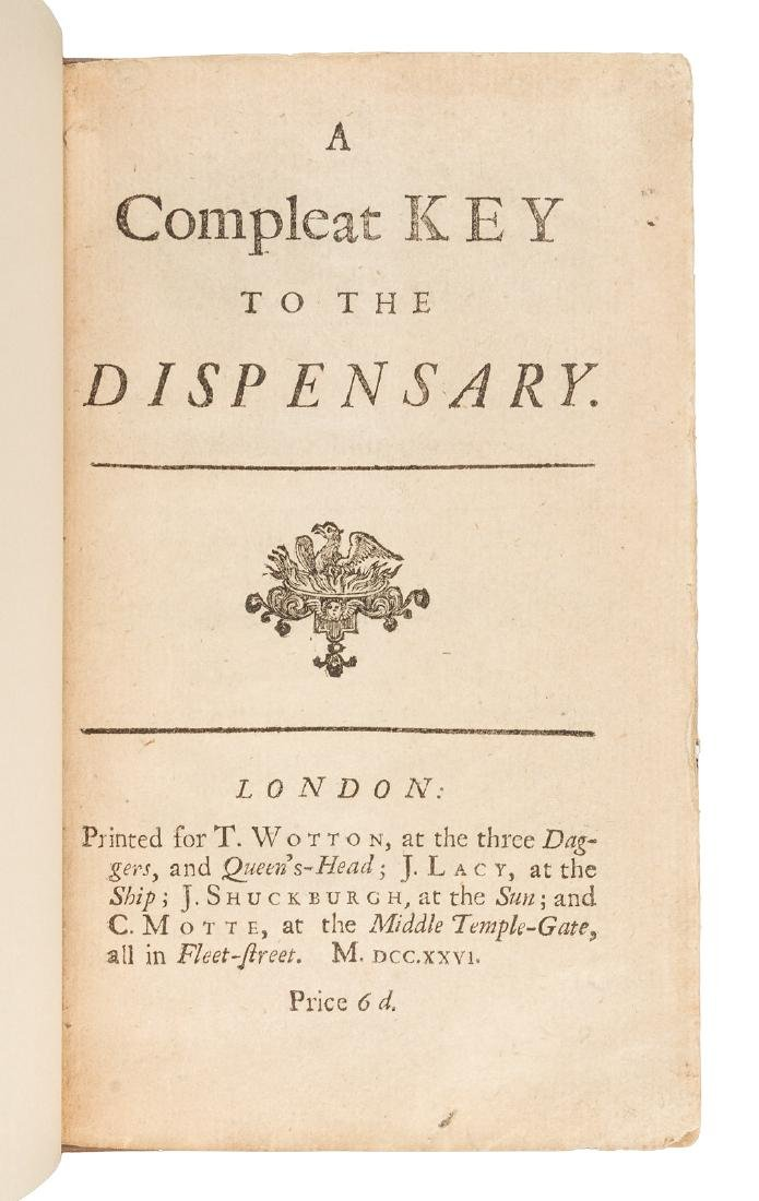 "First edition to include ""A Continuation of the Key"""