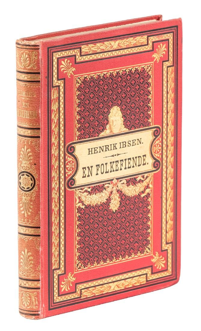 "First Edition of Ibsen's ""An Enemy of the People"""