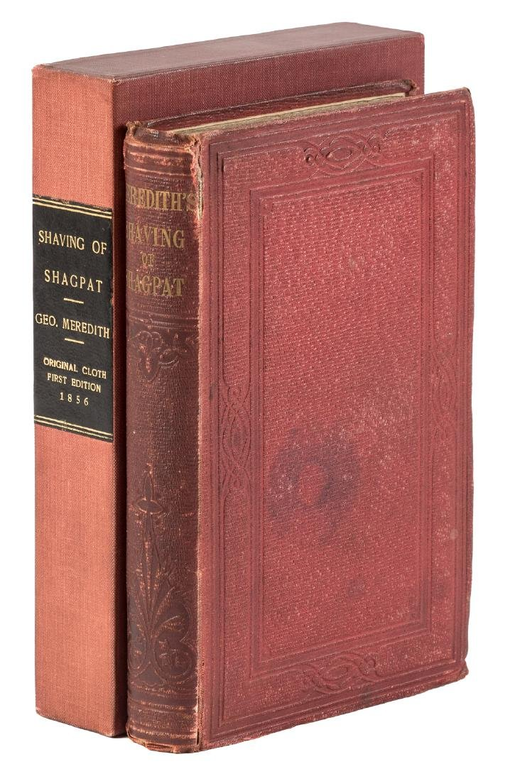 1st Edition of George Meredith's first book