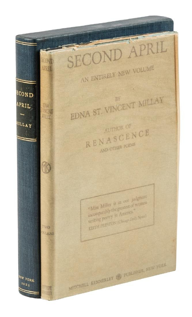 First edition of Millay's Second April