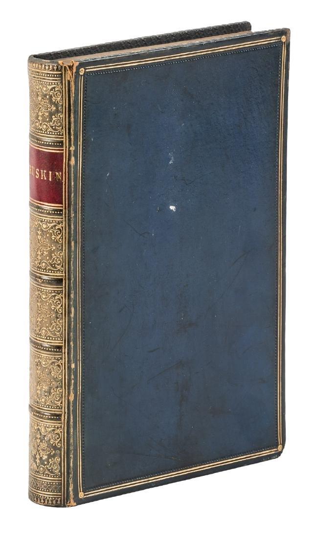 Sammelband of six pamphlets by and about John Ruskin