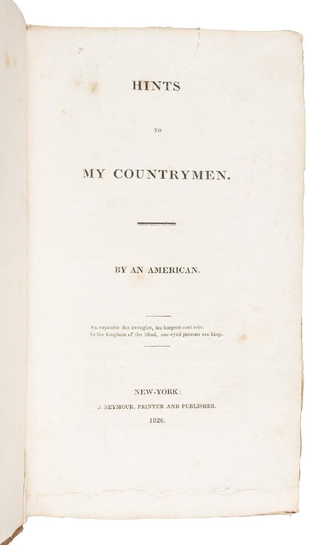 Early 19th century American insights