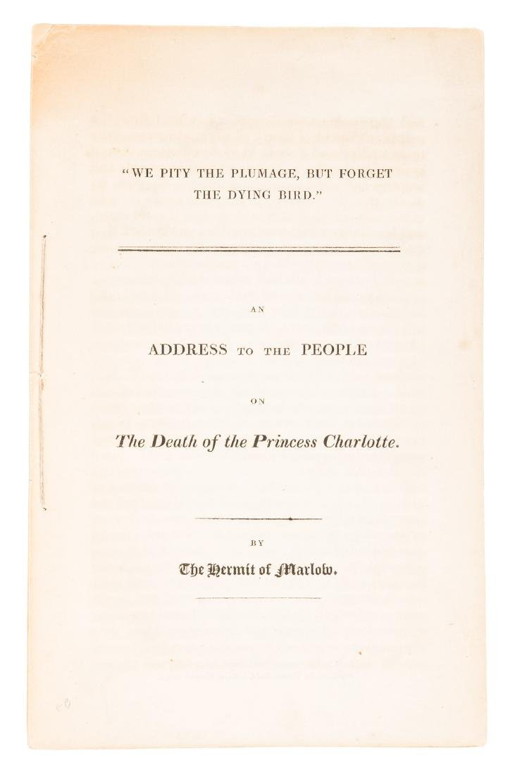 Shelley's Address on the Death of Princess Charlotte,