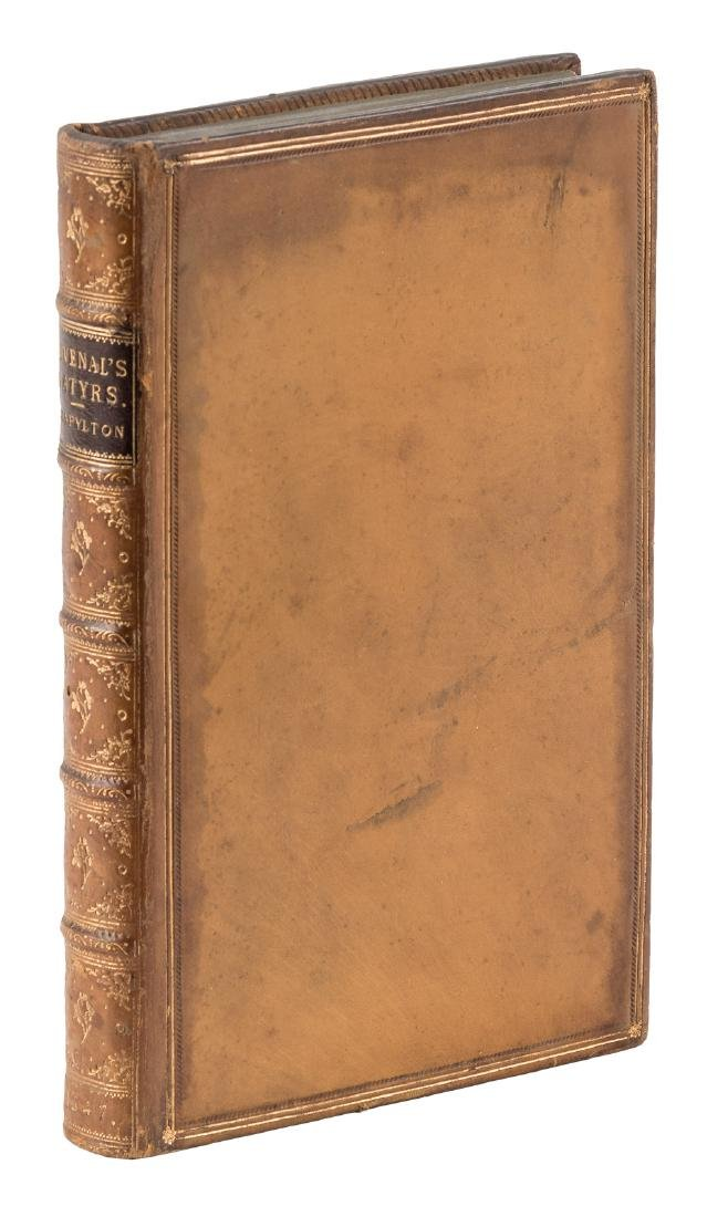 First complete edition in English of Juvenal's satires