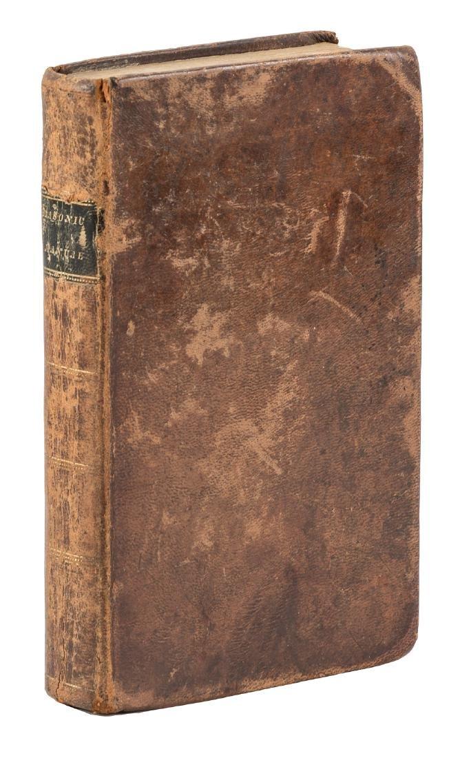 1824 Tennessee Masonic Manual or Freemasonry