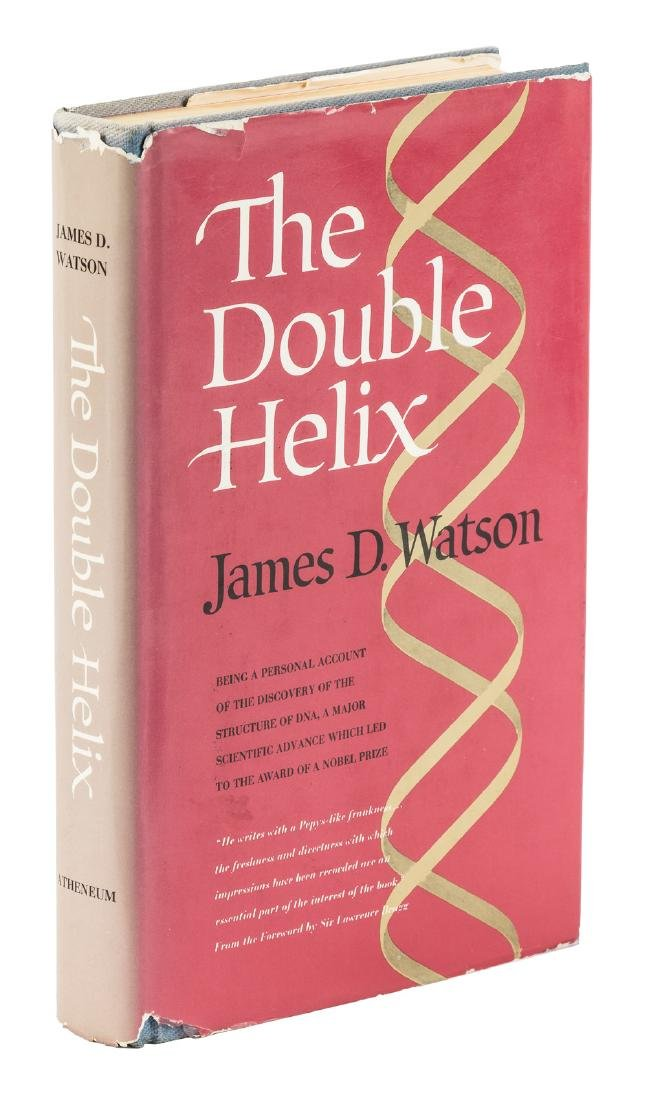 James D. Watson Double Helix signed copy