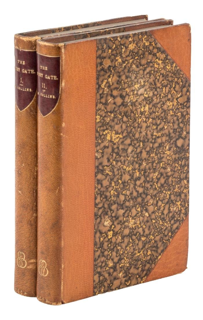 Mortimer Collins, The Ivory Gate finely bound
