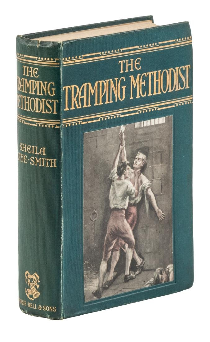 The Tramping Methodist w/rare cover label 1908