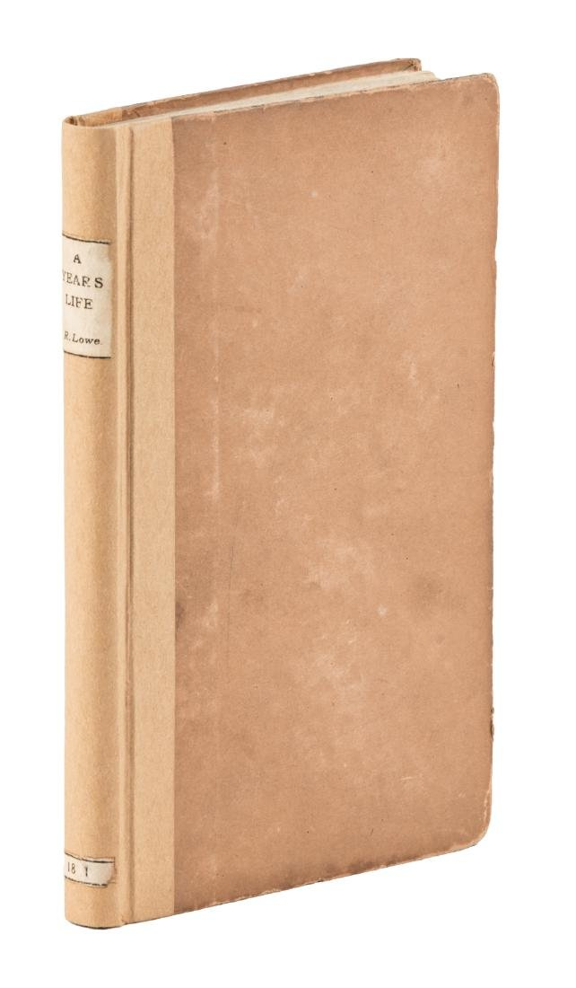 James Russell Lowell's first book