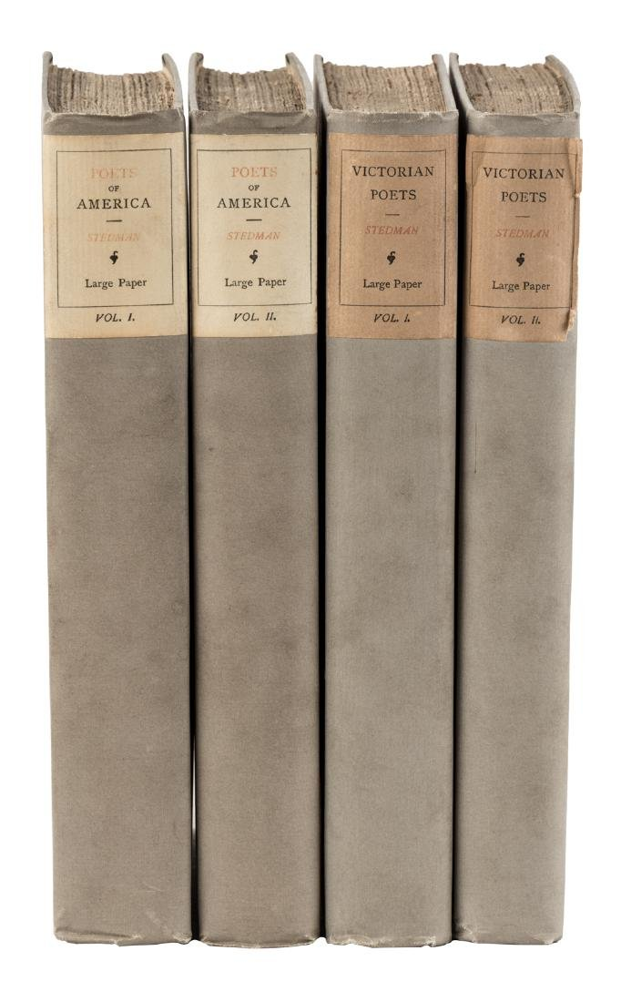 Victorian and American poets, 4 volumes