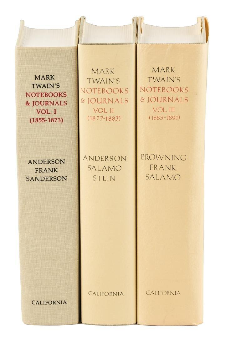 Mark Twain's Notebooks & Journals