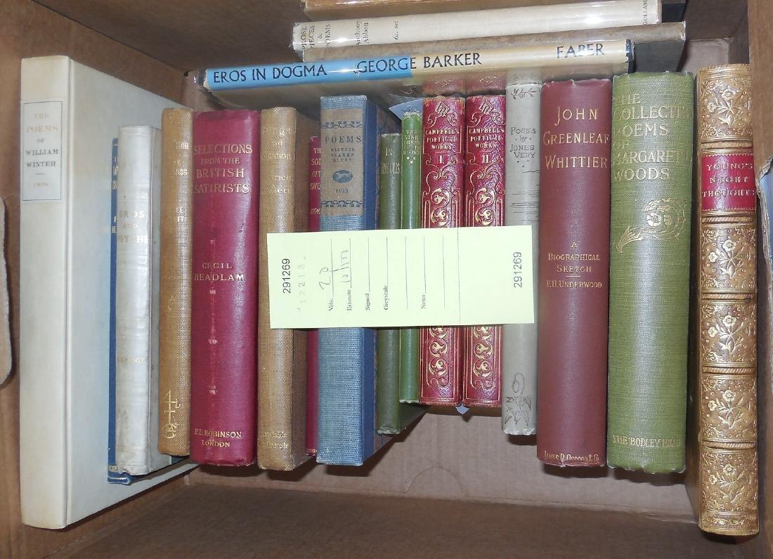 Twenty volumes of poetry