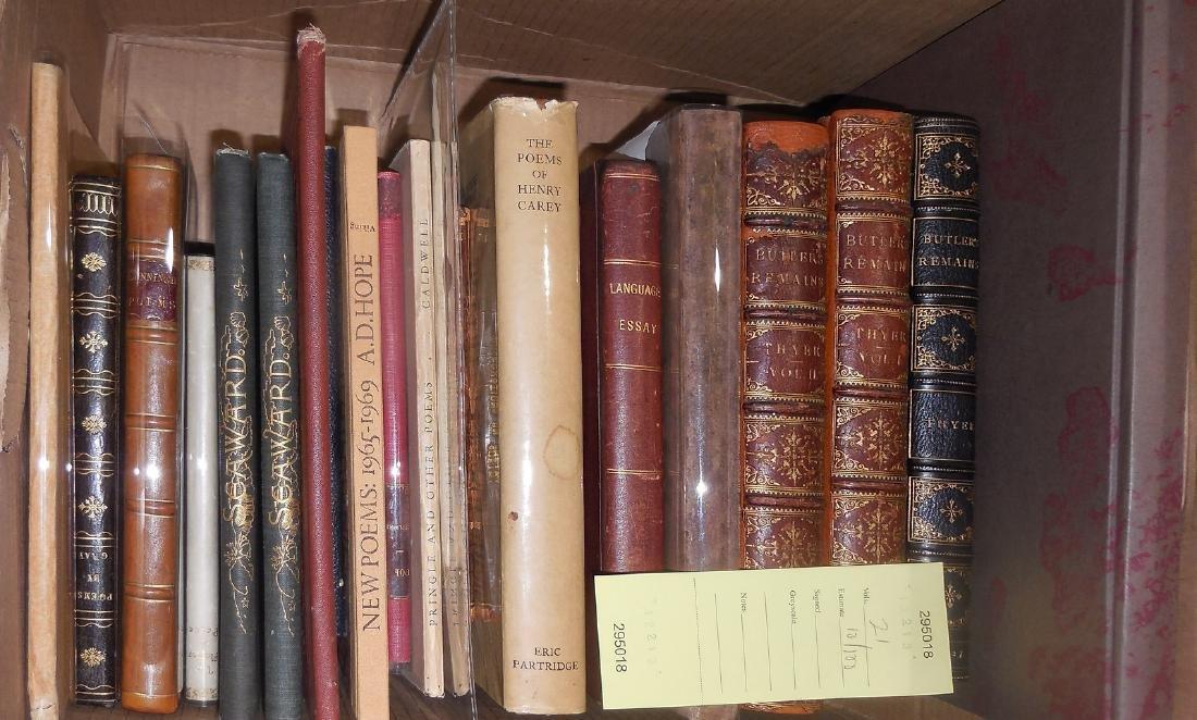 Twenty-one volumes of poetry