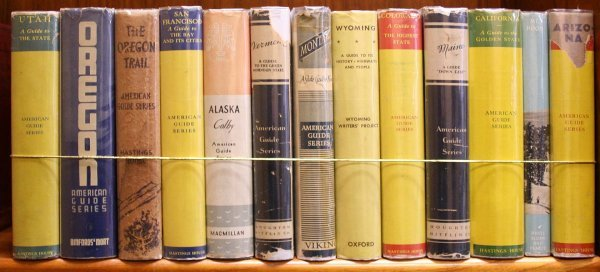 2007: Lot of 13 volumes from the WPA American Guide Ser