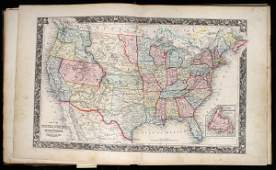 2321 Mitchells New General Atlas Containing Maps of