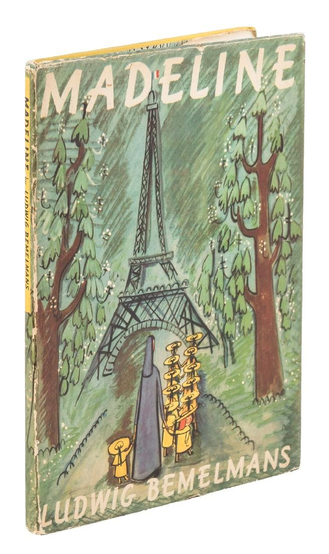 Ludwig Bemelman's Madeline 1st edition in dust jacket