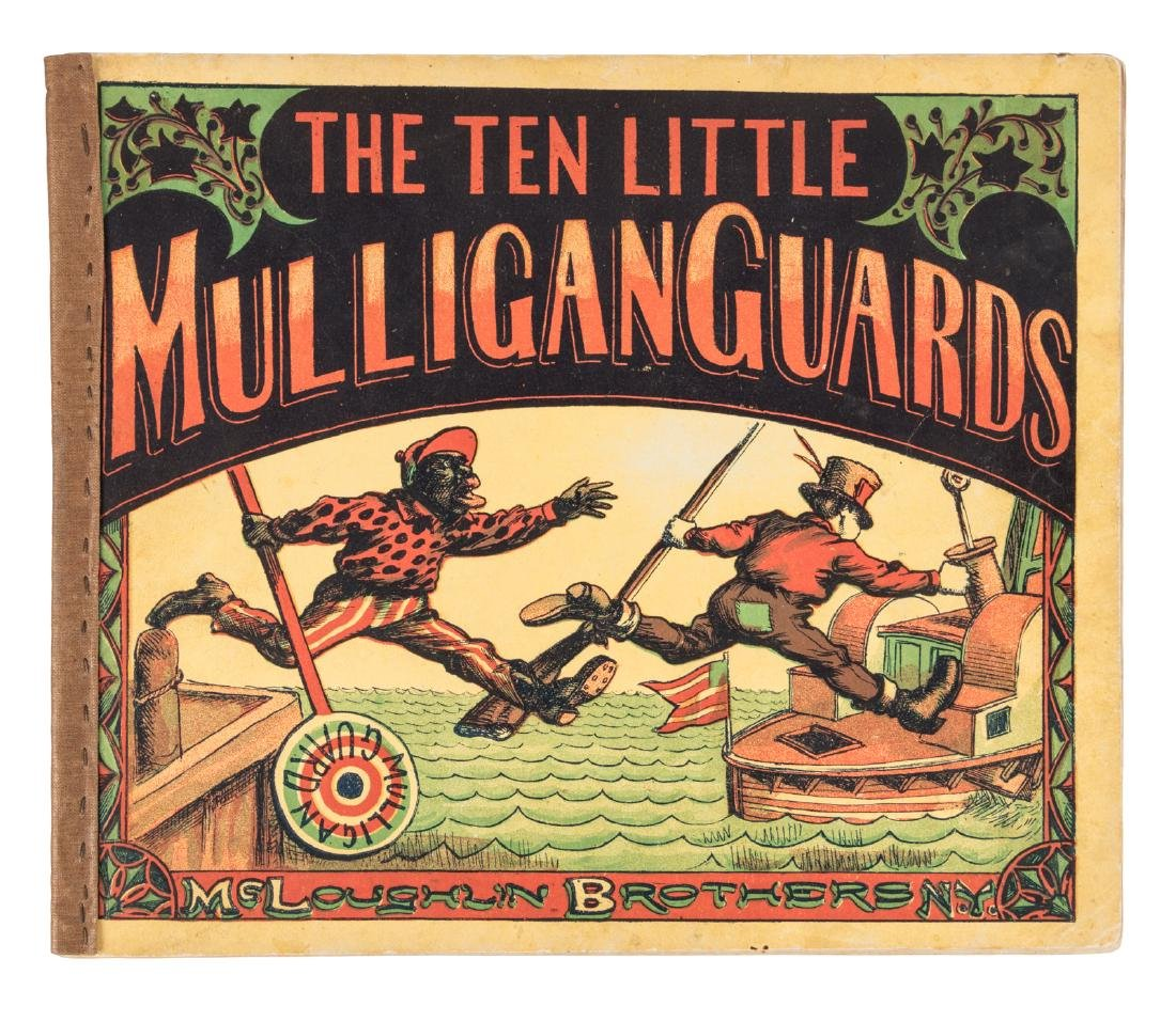 McLoughlin Brothers The Ten Little Mulligan Guards