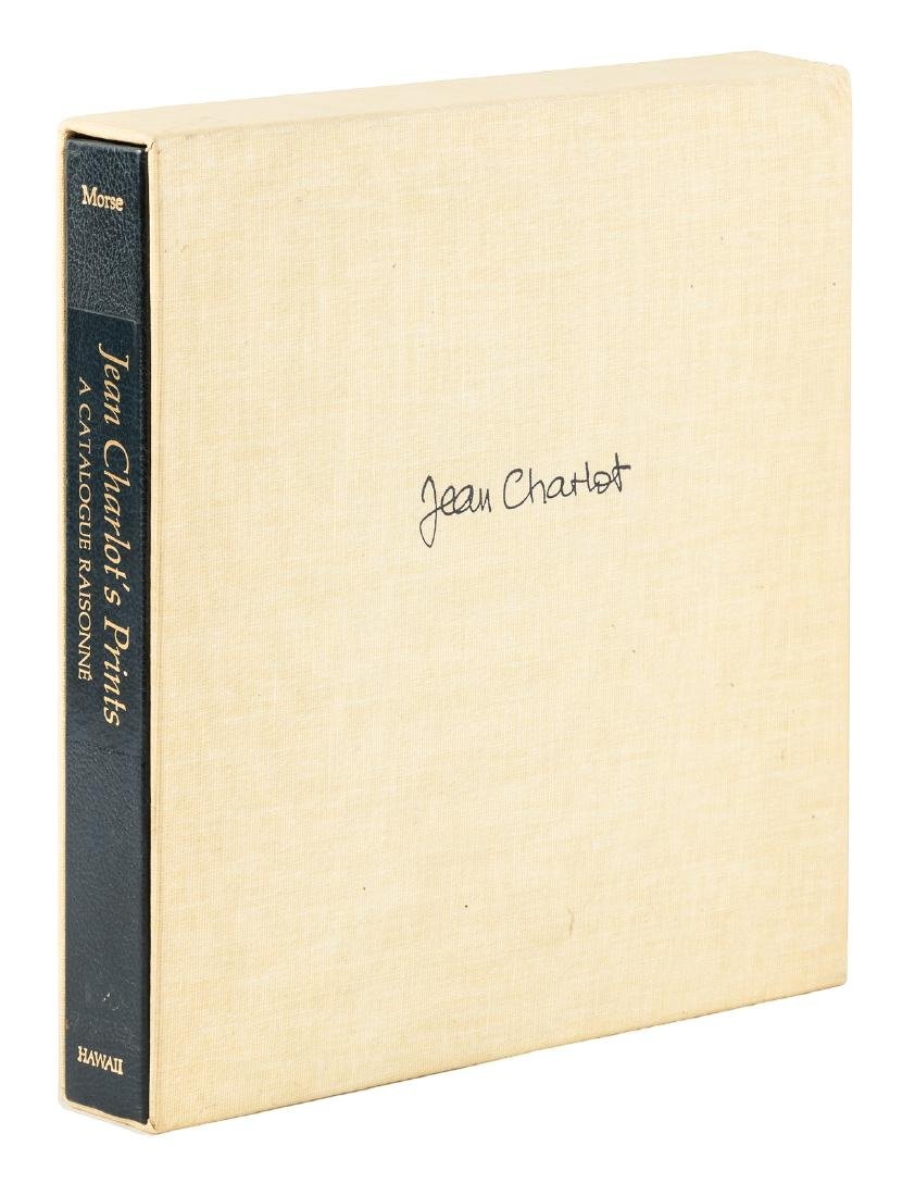 Jean Charlot Catalogue Raisonne with signed print