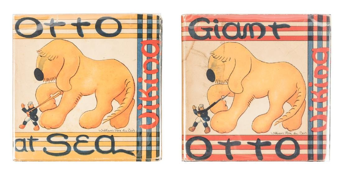 1st editions of Giant Otto and Otto at Sea