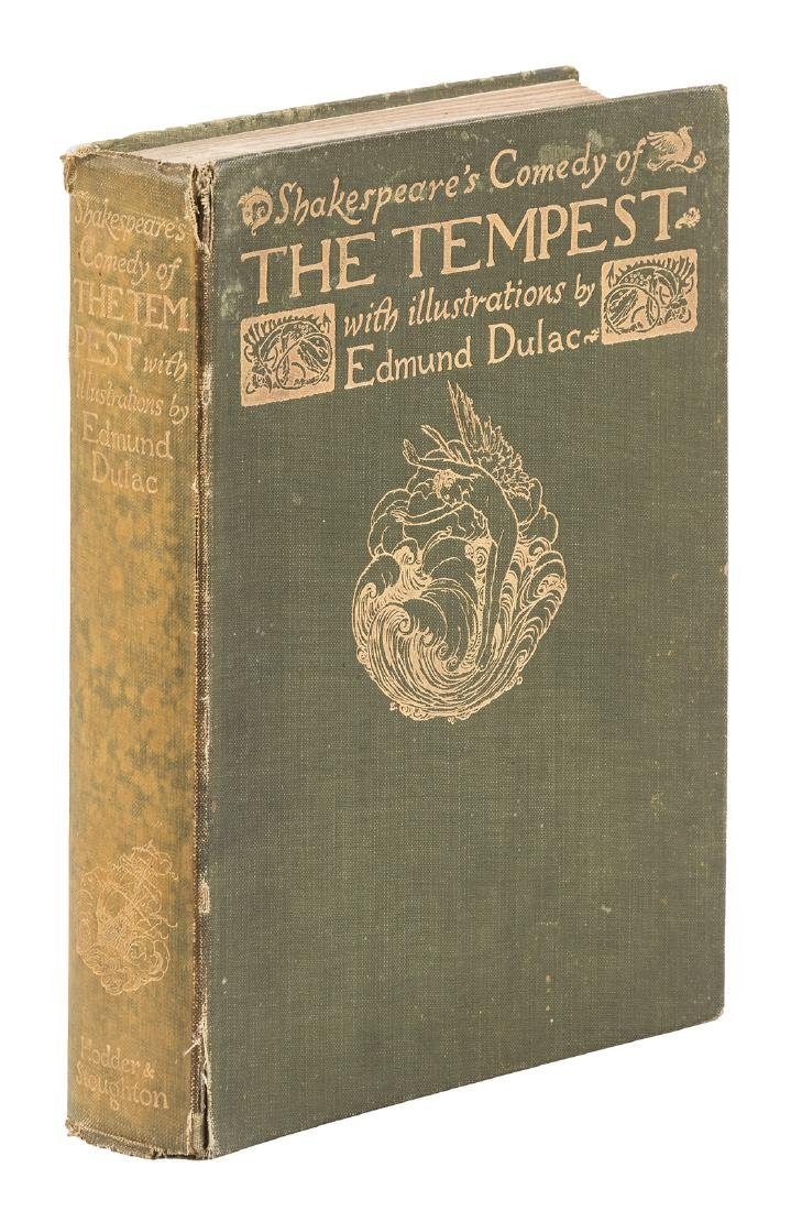 The Tempest Illustrated by Edmund Dulac - 2