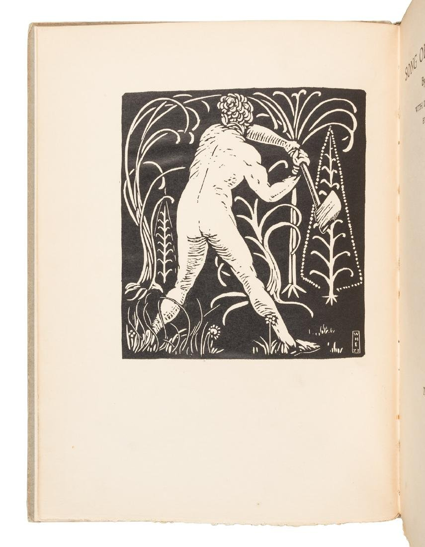 Whitman's Song of the Broad-axe illustrated by Esherick - 2