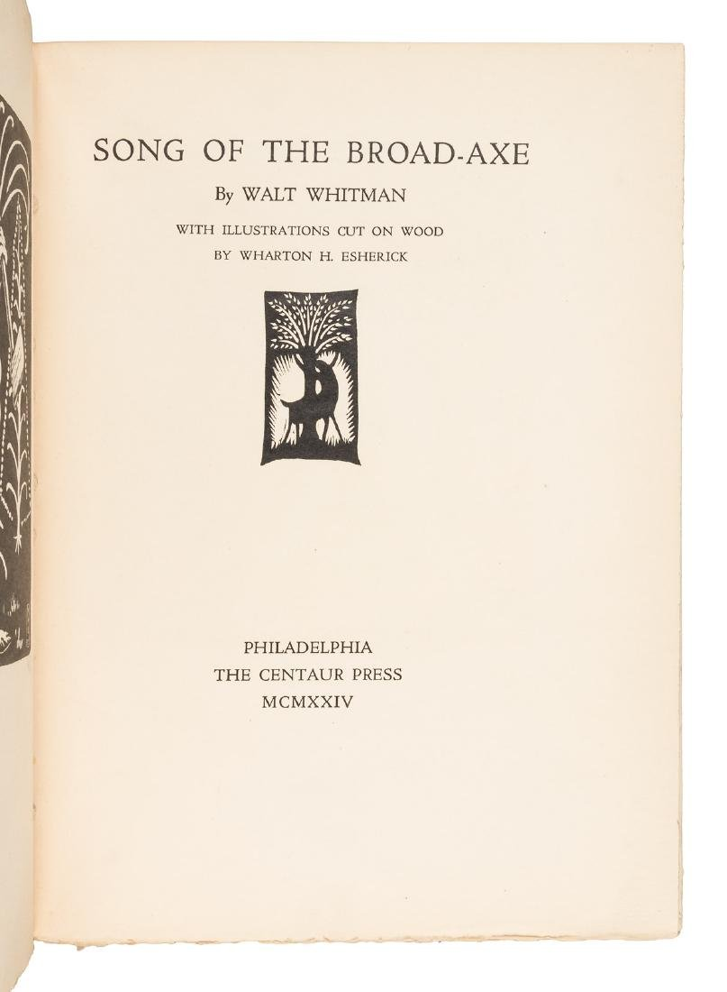 Whitman's Song of the Broad-axe illustrated by Esherick - 3