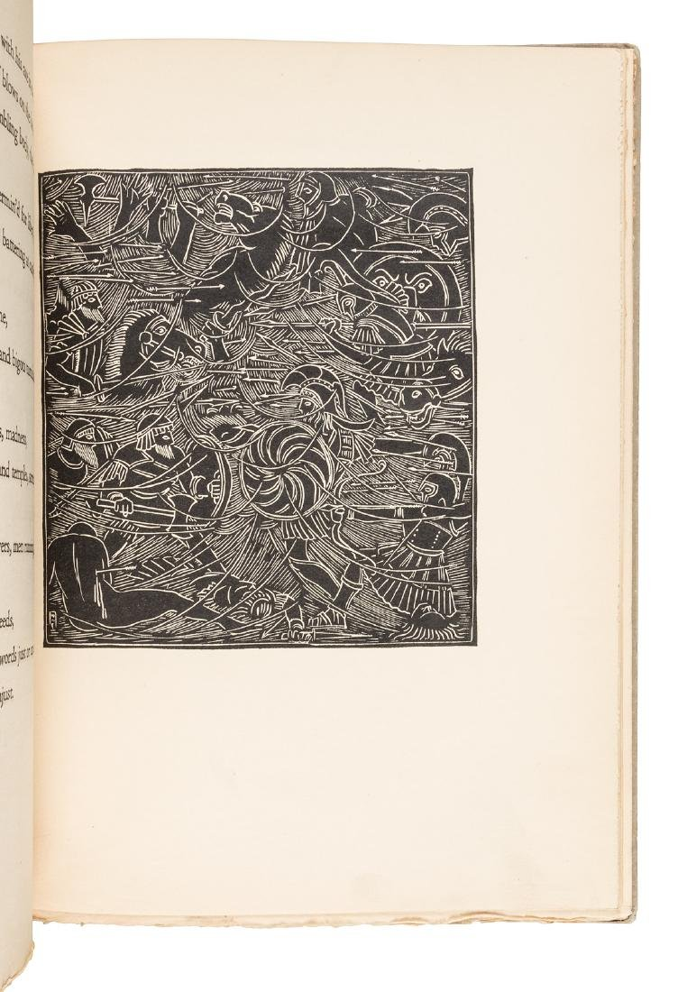 Whitman's Song of the Broad-axe illustrated by Esherick - 4