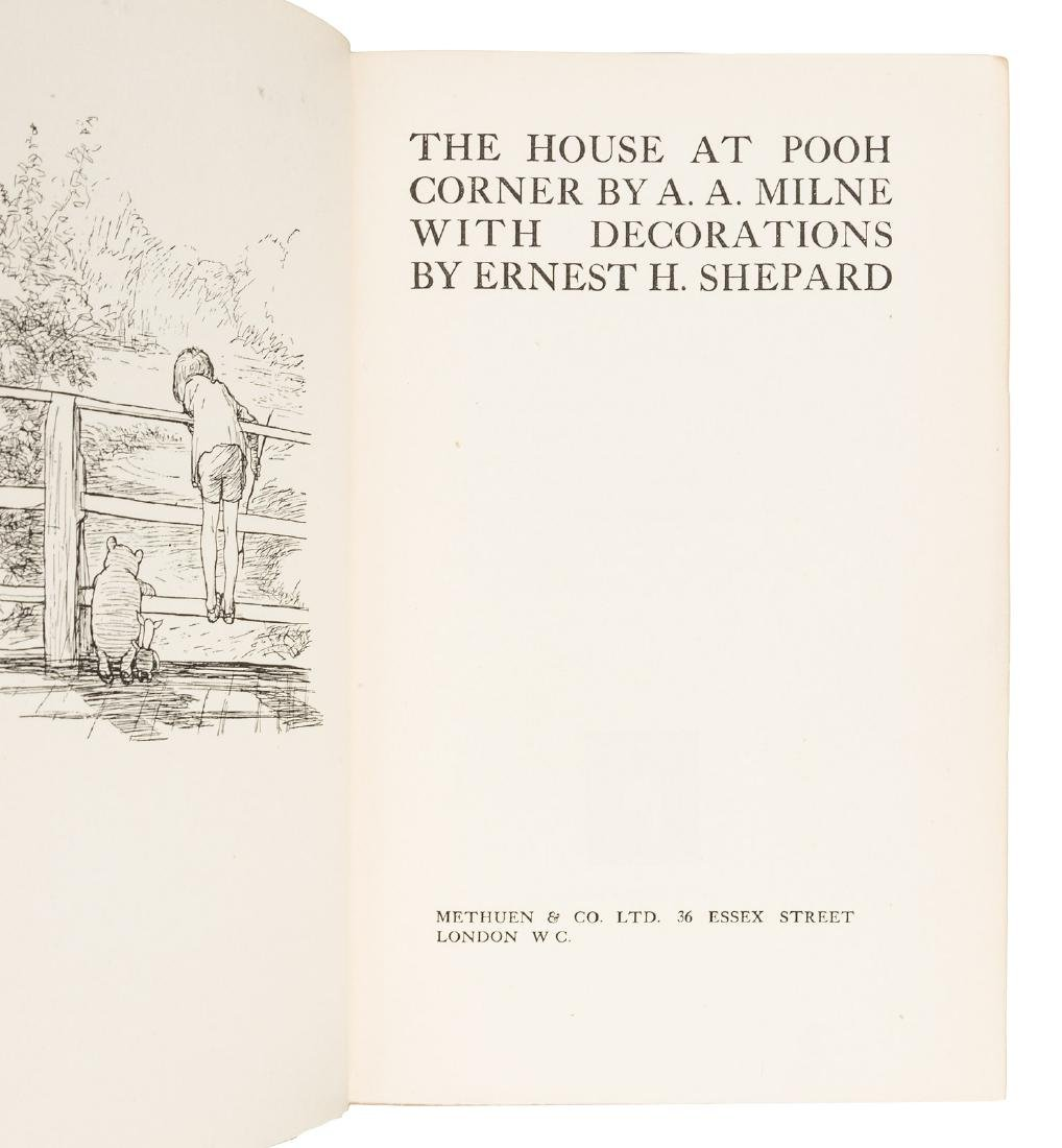 The House at Pooh Corner First Edition in jacket - 3