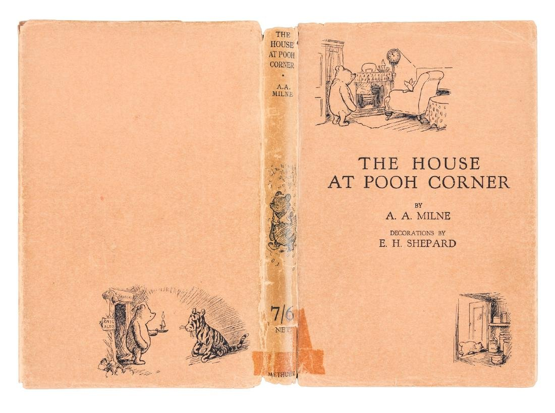 The House at Pooh Corner First Edition in jacket - 5