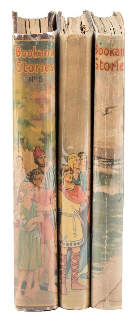 Three Bookano pop-up books - 2