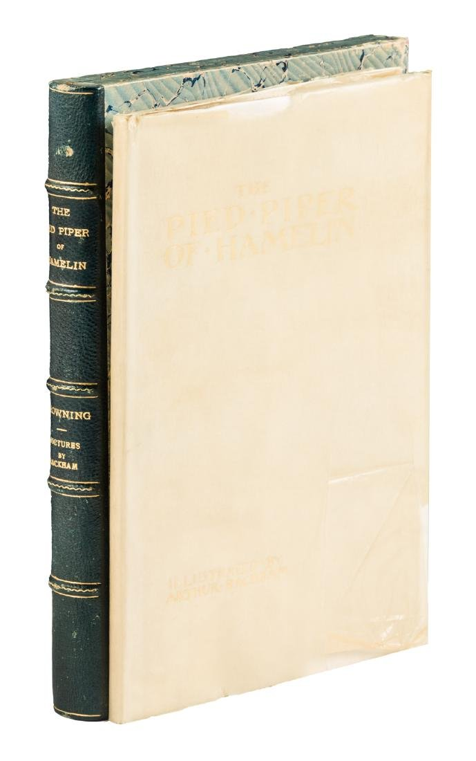 Pied Piper of Hamlin Arthur Rackham signed limited