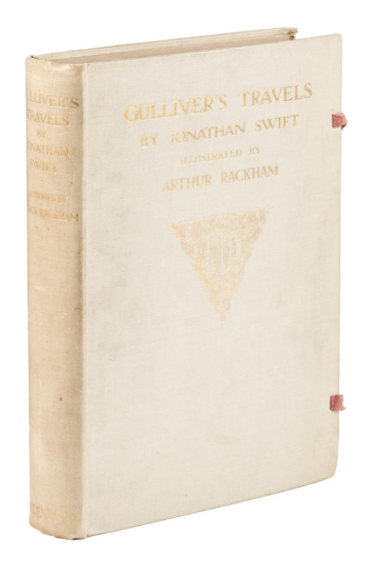 Gulliver's Travels Arthur Rackham signed limited