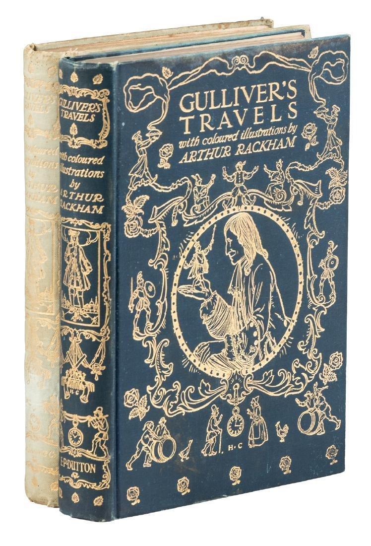 Arthur Rackham illustrates Gulliver's Travels
