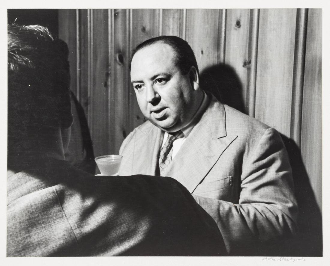 Peter Stackpole photograph of Alfred Hitchcock