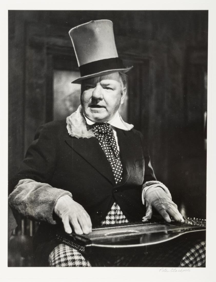 Peter Stackpole photograph of W.C. Fields