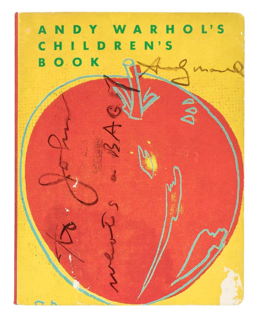 Andy Warhol's Children's Book inscribed