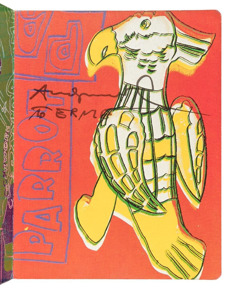 Andy Warhol's Children's Book inscribed - 2