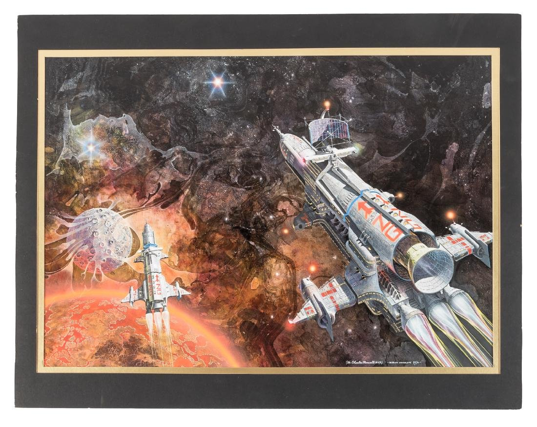 Sci-fi art by Patrick Woodroffe